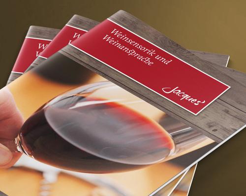 Weinansprache Seminarbroschuere Jacques Wein-Depot