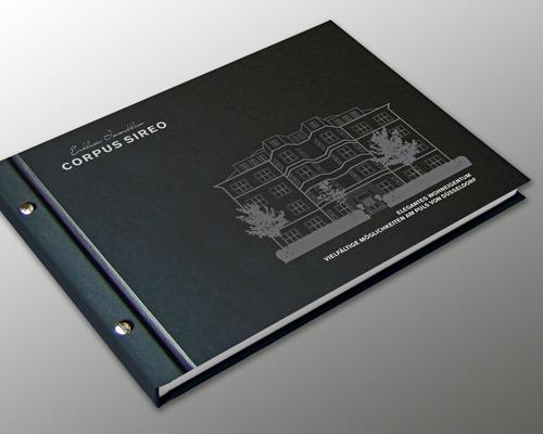 Exklusive Immobilienexposés mit Hardcover und Heißfolienveredlung