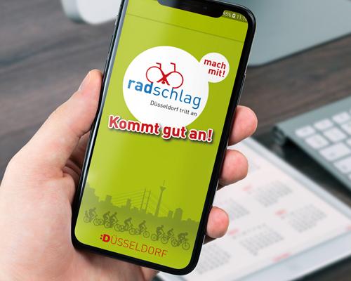 Fahrradnavigation für das Duesseldorfer Fahrradnetz - Startseite