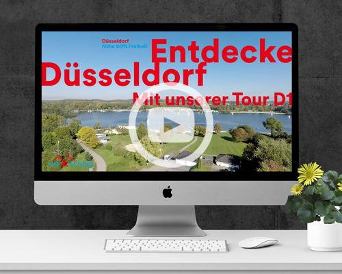 RADschlag Film ueber die Fahrradtour D1 durch Duesseldorf