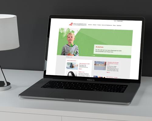 Website Verband der deutschen Lack- und Druckfarbenindustrie e.V.